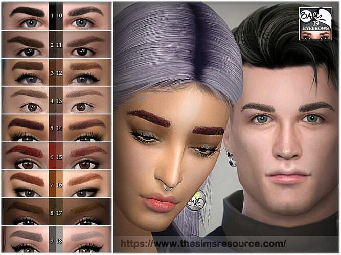 Eyebrows 19 By Bakalia