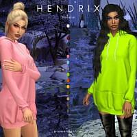 Hendrix Hoodie By Plumbobs N Fries