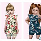 Toddler Spring Dress By Pinkfizzzzz