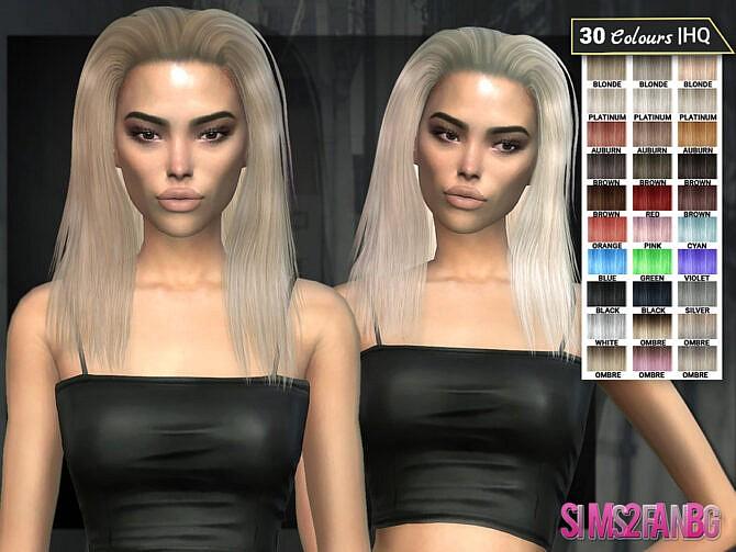 Sims 4 Dara Hair 9 by sims2fanbg at TSR