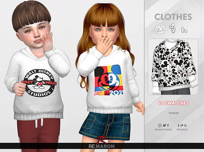 Hoodie For Toddler 01 By Remaron