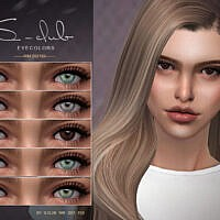 Eyecolors 202102 By S-club Wm