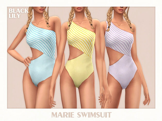 Marie Swimsuit By Black Lily