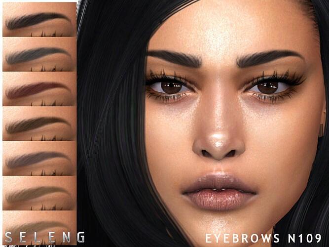 Eyebrows N109 By Seleng