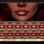 Lipstick #107 By Jul_haos