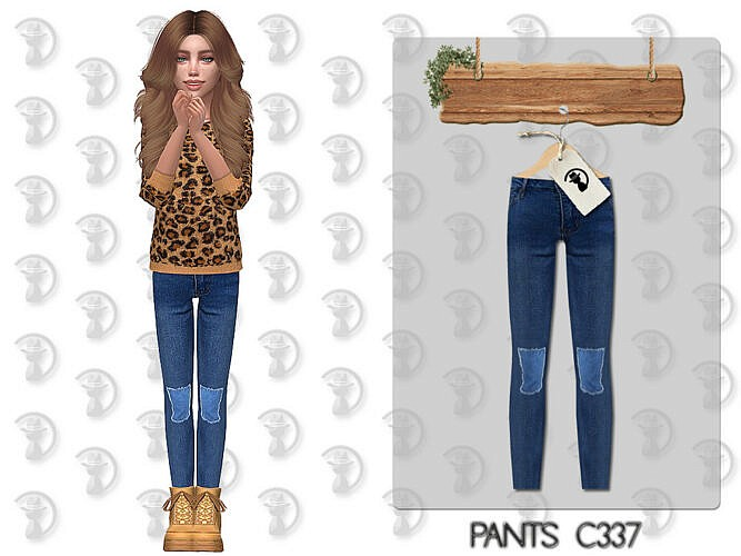 Pants C337 By Turksimmer