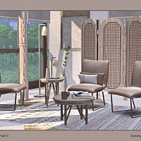 Zoe Furniture Set Part 3 By Soloriya