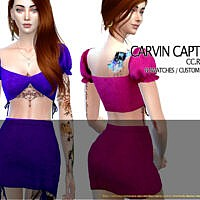 Rose Top By Carvin Captoor