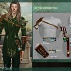 Dsf Elven Accessories Cisne By Dansimsfantasy