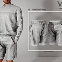 Man Tracksuit (shorts) P28 By Busra-tr