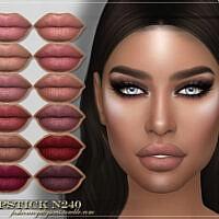 Frs Lipstick N240 By Fashionroyaltysims
