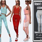 Sports Leggings By Sims House