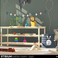 Stibium Toddler Room Toys By Wondymoon