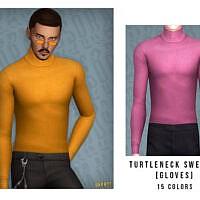 Turtleneck Sweater By Oranostr