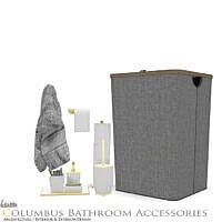 Columbus Bathroom Accessories By Onyxium