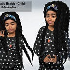 Dramatic Braids Hair For Child By Drteekaycee