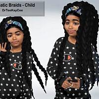 Dramatic Braids Hair For Child By Drteekaycee