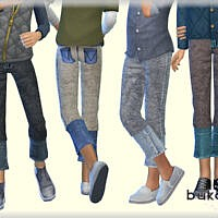 Pants Denim Boy By Bukovka