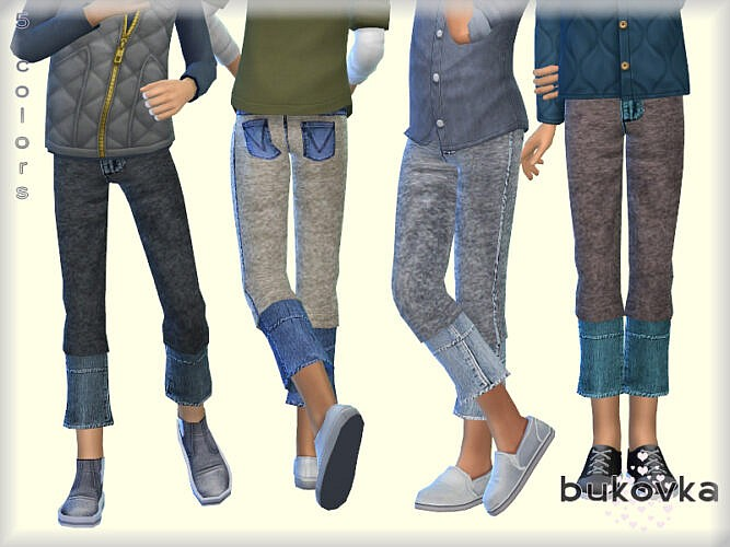 Pants Denim Boy By Bukovka