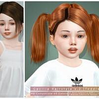 Cecilia Hairstyle V2 Toddler By Darknightt