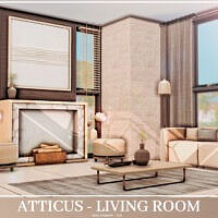 Atticus Living Room By Mini Simmer