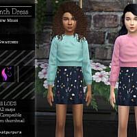 Hyacinth Dress By Katpurpura