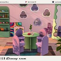 Indigo Dining Room By Winner9