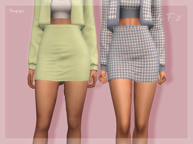 Skirt Bt403 By Laupipi