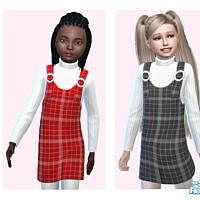 Checked Dress By Pinkfizzzzz