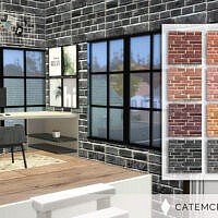Brick Wall By Catemcphee