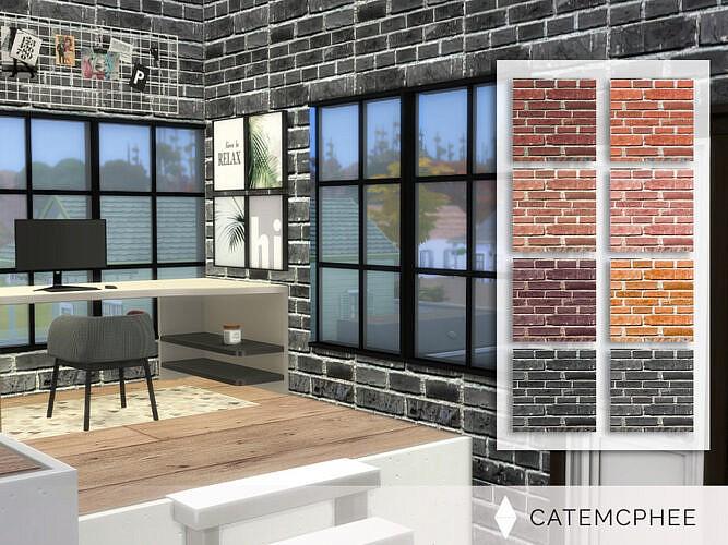 Brick Wall By Catemcphee