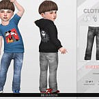 Denim Pants For Toddler 02 By Remaron