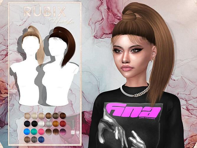 Rubix Hairstyle By Javasims