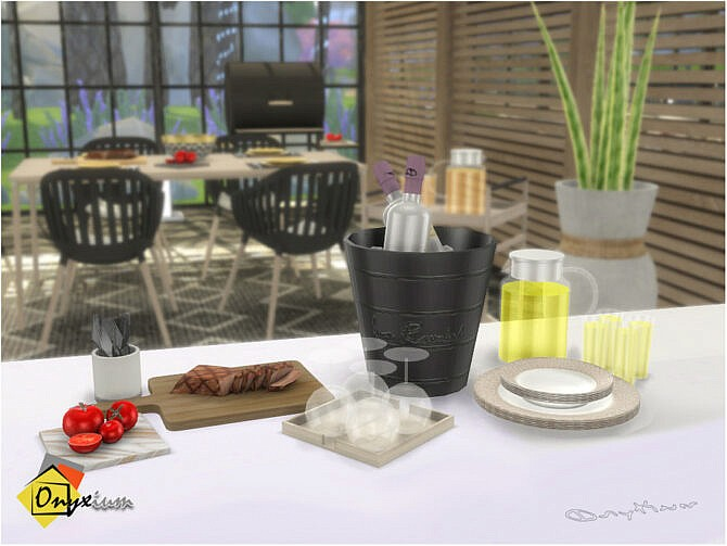 Sims 4 Fresno Outdoor Extra Materials by Onyxium at TSR