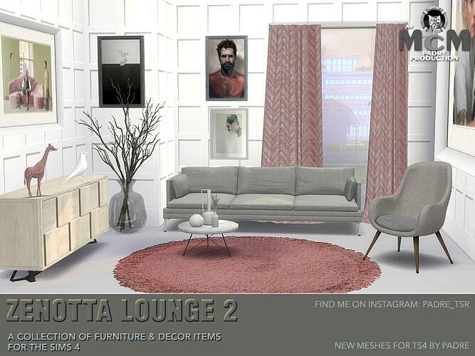 Zenotta Lounge 2 By Padre