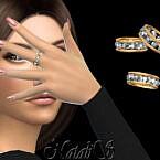 12 Gems Eternity Ring By Natalis