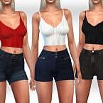 Denim Shorts By Saliwa