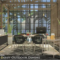 Derby Outdoor Dining By Onyxium