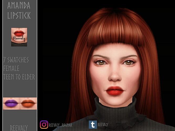 Amanda Lipstick By Reevaly