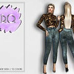 High Waisted Jeans 35 By D.o.lilac