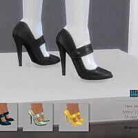 Mary Jane Shoes Set