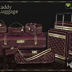 Skaddy Luggage By Jomsims
