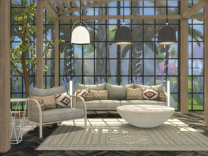 Sims 4 Arlington Outdoor Living by Onyxium at TSR