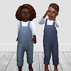 Toddler Denim Dungarees By Infiniteplumbobs
