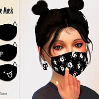 Child Face Mask By Suzue