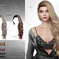 Long Curly Hair N73 Tifa By S-club