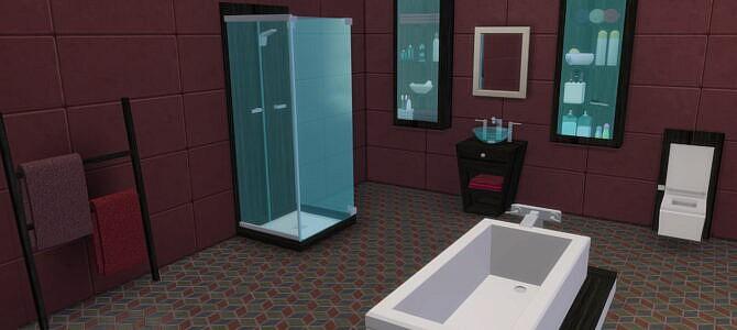 Sims 4 Ava Bathroom at LIZZY SIMS