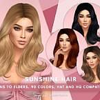 Sunshine Hair By Sonyasimscc