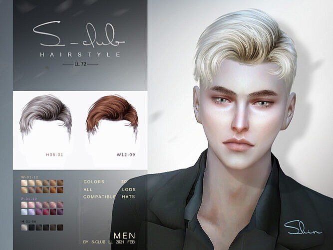 Shin Hair N71 For Males By S-club