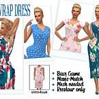Mf's Wrap Dress
